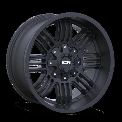 20x9 8x180 5BS Type 144 Matte Black - Ion Wheel