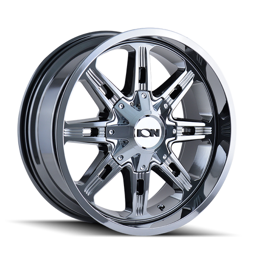 18x9 8x6.5/8x170 5BS Type 184 Chrome - Ion Wheel