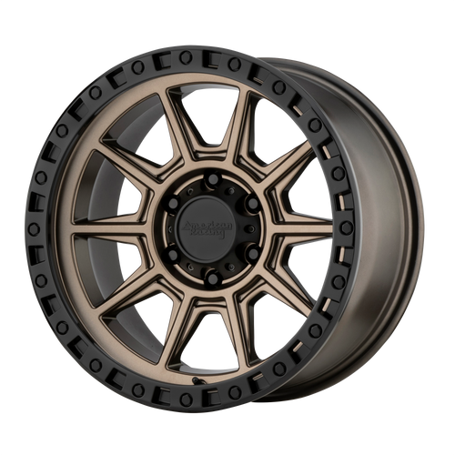 17x9 5x4.5 4.53BS AR202 Bronze - American Racing