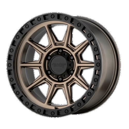 18x9 6x4.5 5BS AR202 Bronze - American Racing
