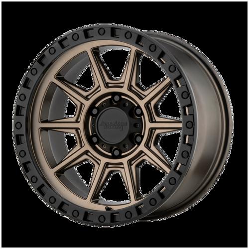 18x9 6x5.5 5BS AR202 Bronze - American Racing