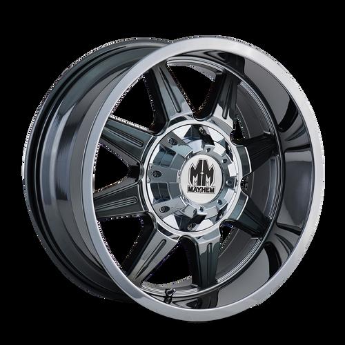 20x9 6x5.5 5BS 8100 Monstir PVD - Mayhem Wheels
