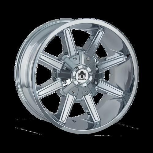 18x9 5x5 5.71BS 8104 Arsenal Chrome - Mayhem Wheels