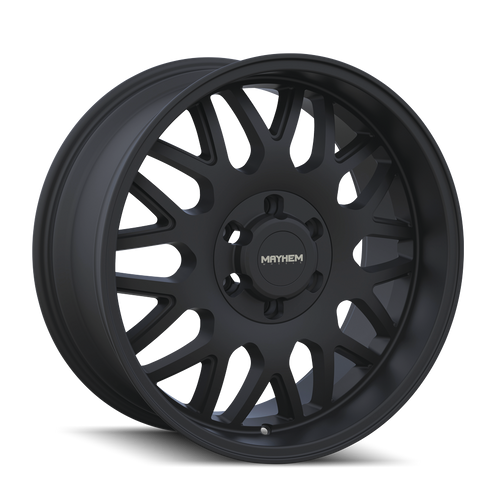 20x9 6x5.5 5.71BS 8110 Tripwire Matte Black - Mayhem Wheels