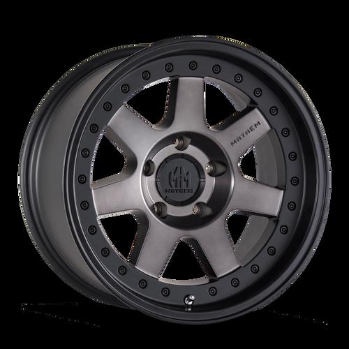 20x9 8x180 5BS 8300 Prodigy Matte Black w/Bronze Tint - Mayhem Wheels