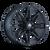 17x9 5x4.5/5x5 5.75BS 8090 Rampage Matte Black - Mayhem Wheels