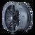18x9 5x4.5/5x5 5.75BS 8090 Rampage Matte Black - Mayhem Wheels