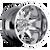 20x9 6x5.5/6x135 4.5BS D508 Octane Chrome - Fuel Off-Road