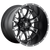 20x9 6x5.5/6x135 5BS D513 Throttle Black Milled - Fuel Off-Road