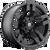 20x9 5x4.5/5x5 5BS D515 Pump Matte Black - Fuel Off-Road