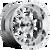 20x10 8x170 4.5BS D516 Krank Chrome - Fuel Off-Road