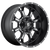20x10 8x180 5BS D517 Krank Black Milled - Fuel Off-Road
