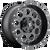 17x9 5x4.5/5x5 4.5BS D525 Revolver Black Milled - Fuel Off-Road