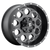 17x9 6x5.5/6x135 5BS D525 Revolver Black Milled - Fuel Off-Road
