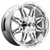 20x9 6x5.5/6x135 5.75BS D530 Hostage Chrome - Fuel Off-Road