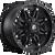 17x9 5x5.5/5x135 4.5BS D531 Hostage Matte Black - Fuel Off-Road