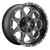 18x9 5x4.5/5x5 4.5BS D534 Boost Black Milled - Fuel Off-Road