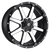 20x10 6x5.5/6x135 4.5BS D537 Maverick Black Machined - Fuel Off-Road
