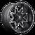 20x9 8x170 5BS D567 Lethal Black/Milled - Fuel Off-Road