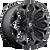 20x12 5x4.5/5x5 4.75BS D546 Assault Black Milled - Fuel Off-Road