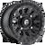 16x8 6x4.5 5BS D579 Vector Matte Black - Fuel Off-Road