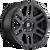 17x8.5 6x5.5 5BS D584 Recoil Matte Black - Fuel Off-Road