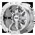 20x9 8x6.5 5BS XD838 Mammoth Chrome - XD Wheels
