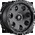 20x9 5x5 5BS D608 Enduro Matte Black - Fuel Off-Road