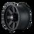 20x10 8x6.5 4.75BS Type 134 Matte Black/Black Beadlock - Ion Wheel