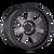 18x9 8x6.5 5BS 8300 Prodigy Matte Black w/Dark Tint - Mayhem Wheels
