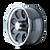 15x8 6x5.5 3.44BS Type 171 Black/Machined Lip - Ion Wheel