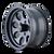 16x8 6x5.5 4.3BS Type 171 Matte Black - Ion Wheel