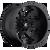 20x12 5x4.5/5x5 4.75BS D509 Octane Matte Black - Fuel Off-Road