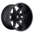 20x12 8x6.5 4.75BS D509 Octane Matte Black - Fuel Off-Road