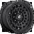 18x9 6x135 5BS D633 Zephyr Matte Black - Fuel Off-Road