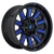 20x9 6x5.5/6x135 5.75BS D646 Hardline Gloss Milled Blue - Fuel Off-Road