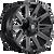24x14 5x5/5x5.5 4.5BS D615 Contra Gloss Blk Mil - Fuel Off-Road