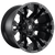 17x9 8x6.5 5BS D560 Vapor Black Matte - Fuel Off-Road