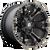 20x9 8x180 5BS D569 Vapor Black/Mach w/ Tint - Fuel Off-Road