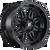 20x10 5x4.5/5x5 4.75BS D625 Hostage Gloss Black - Fuel Off-Road