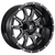 20x9 6x5.5/6x135 5.7BS D627 Vandal Gloss Black Milled - Fuel Off-Road
