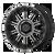22x10 8x170 4.79BS XD829 Hoss II Satin Black Mach w/Grey - XD Wheels