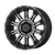 18x9 8x6.5 5BS XD829 Hoss II Satin Black Mach w/Grey - XD Wheels