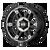 17x9 8x6.5 4.53BS XD840 Spy II Gloss Black Machined - XD Wheels