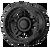 20x10 6x5.5/6x135 4.79BS XD138 Brute Satin Black - XD Wheels