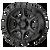 17x9 5x5 4.53BS XD139 Portal Satin Black - XD Wheels