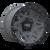 17x9 5x5 4.53BS Theory Matte Gunmetal W/ Matte Black Lip - Dirty Life Wheels