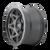18x9 8x6.5 5BS Theory Matte Black - Dirty Life Wheels