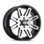 20x9 6x5.5 5.98BS Type 142 Black/Machined Face - Ion Wheel