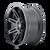 18x9 8x6.5 5BS Type 142 Matte Black - Ion Wheel